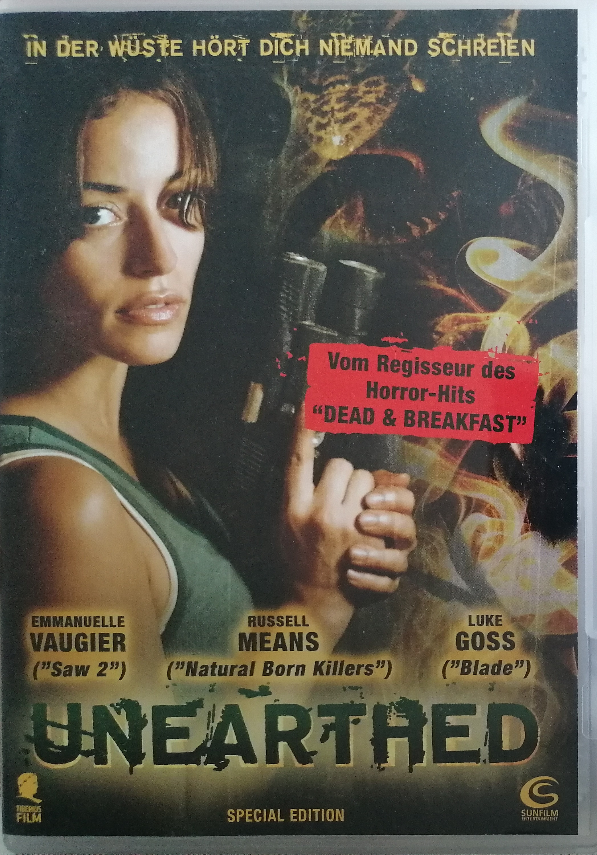 Unearthead ( Nepohřbený) - DVD plast - bez CZ titulků