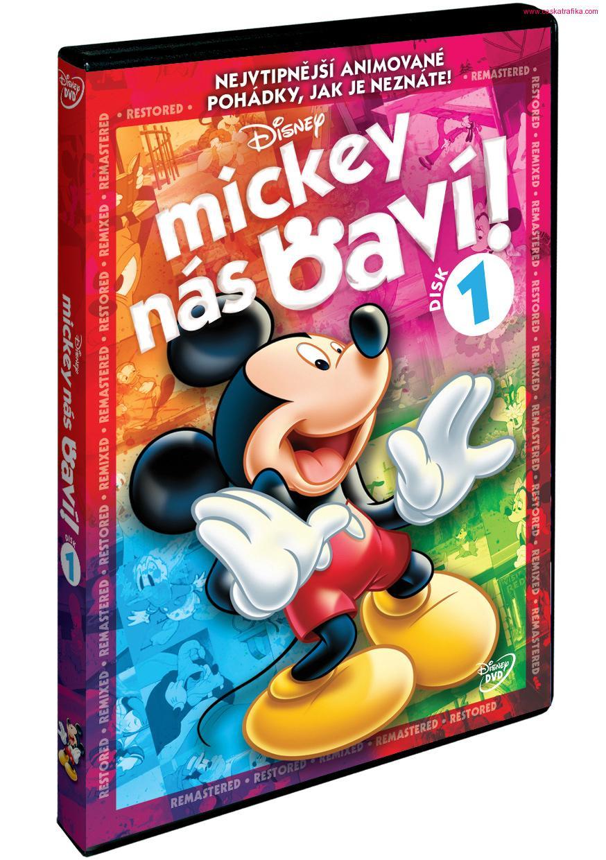 Mickey nas baví! - Disk 1 - DVD /plast/bazarové zboží/
