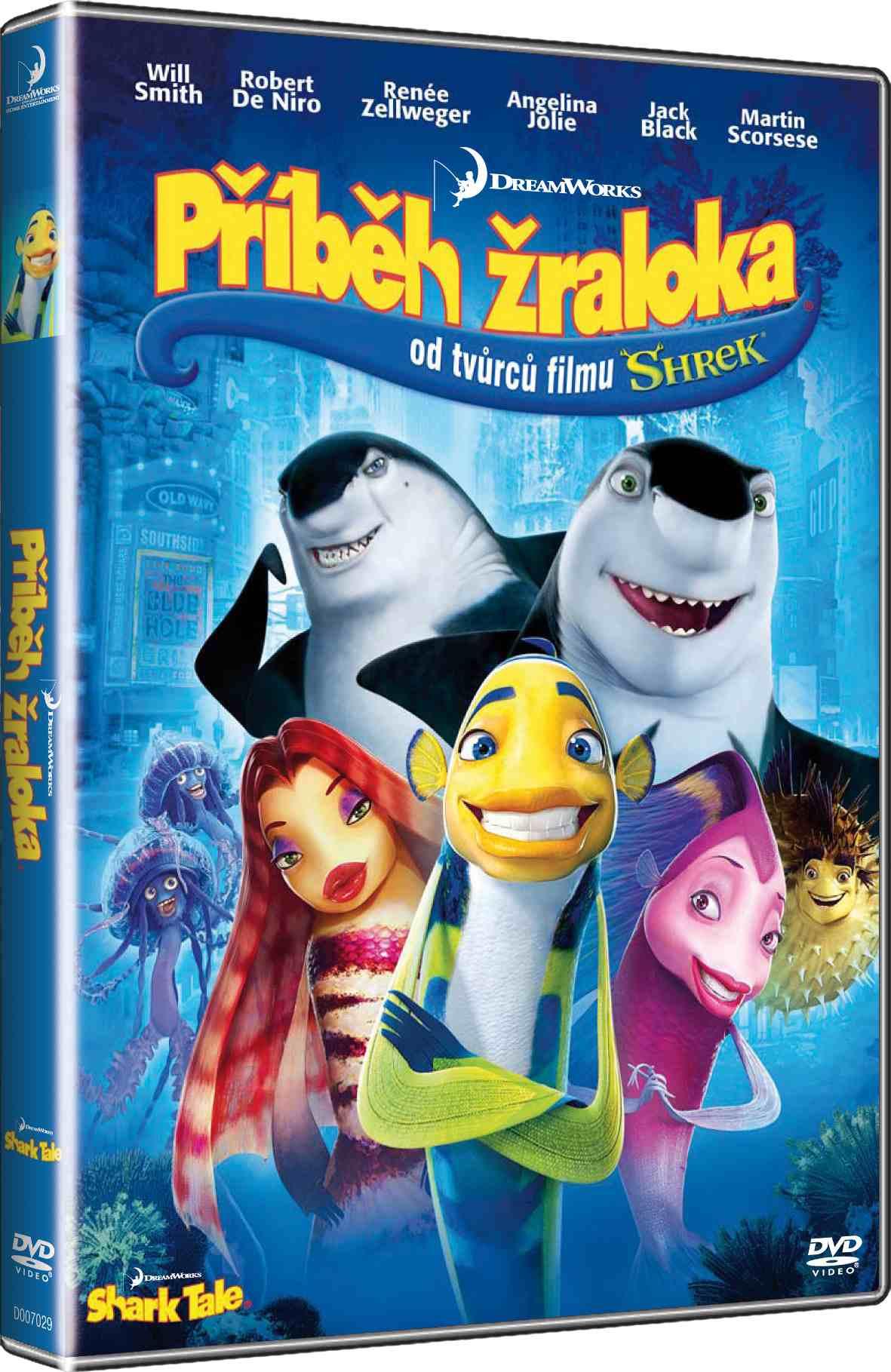 Příběh žraloka - DVD /plast/