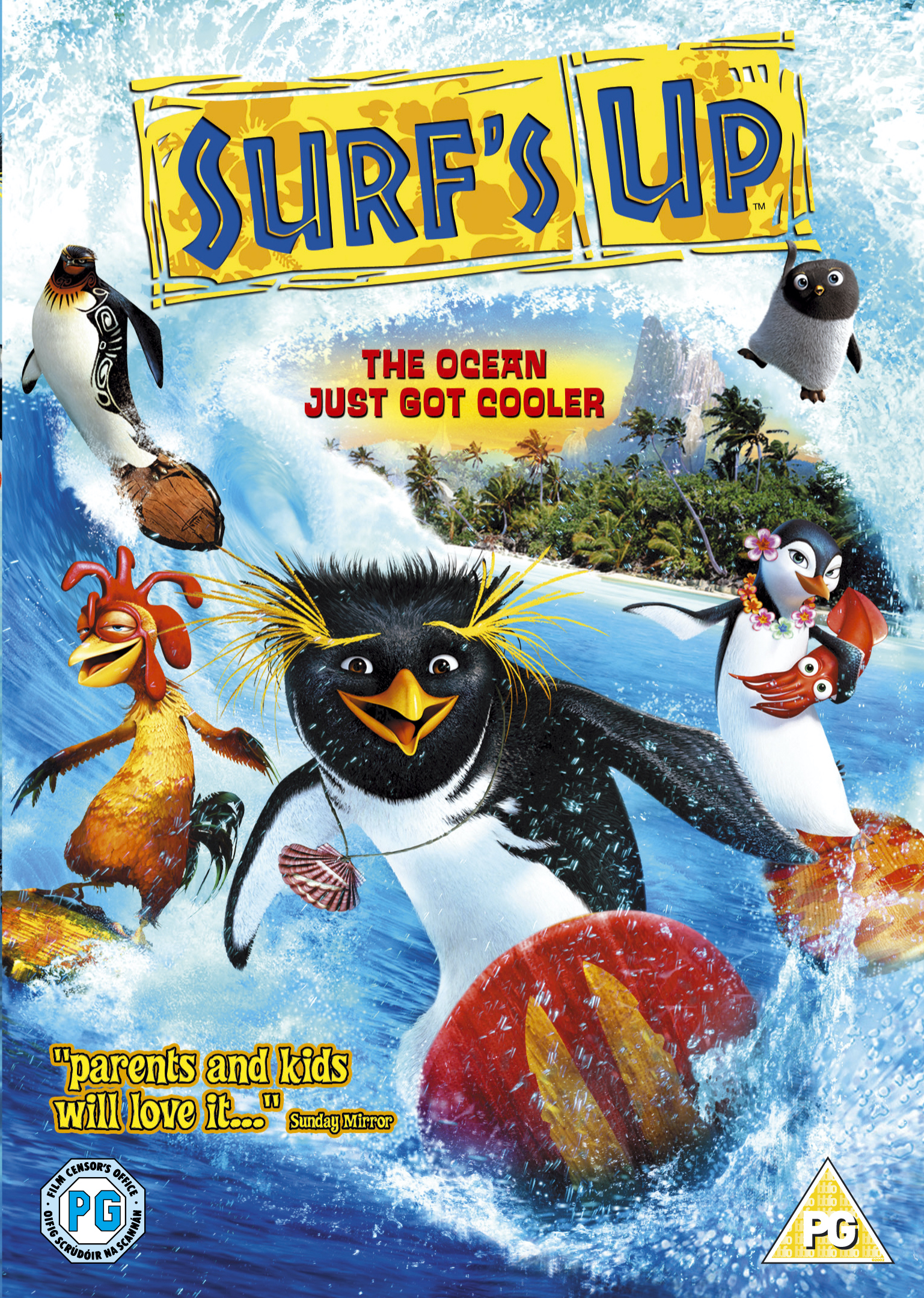 Surf's Up - v originálním znění bez CZ titulků - DVD /plast/