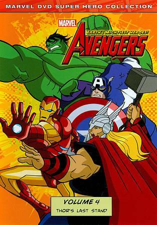 The Avengers - Earth's Mightiest Heroes! - Volume 4 - v originálním znění bez CZ titulků - DVD /plast/