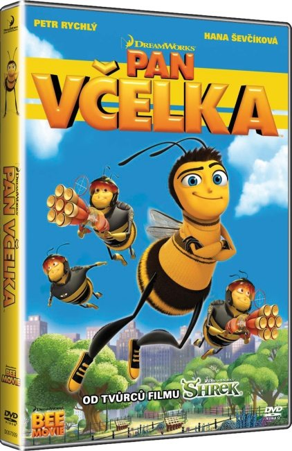 Pan Včelka - DVD /plast/