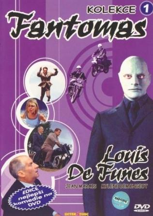 Fantomas - DVD /pošetka/