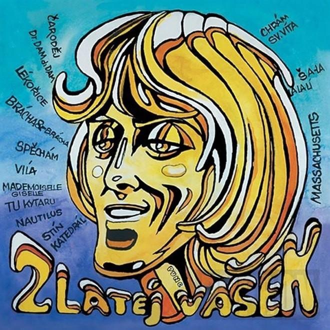 Václav Neckář + Bacily - Zlatej Vašek - CD /plast/