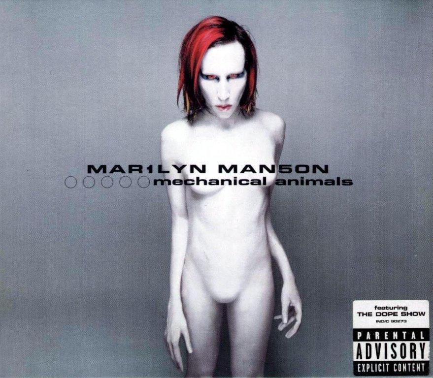 Marilyn Manson - Mechanical Animals - CD /plast/