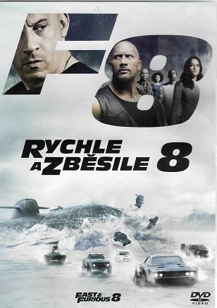 Rychle a zběsile 8 ( plast ) DVD
