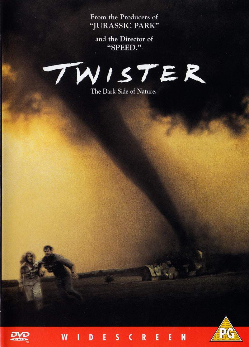 Twister - v originálním znění s CZ titulky - DVD /plast/