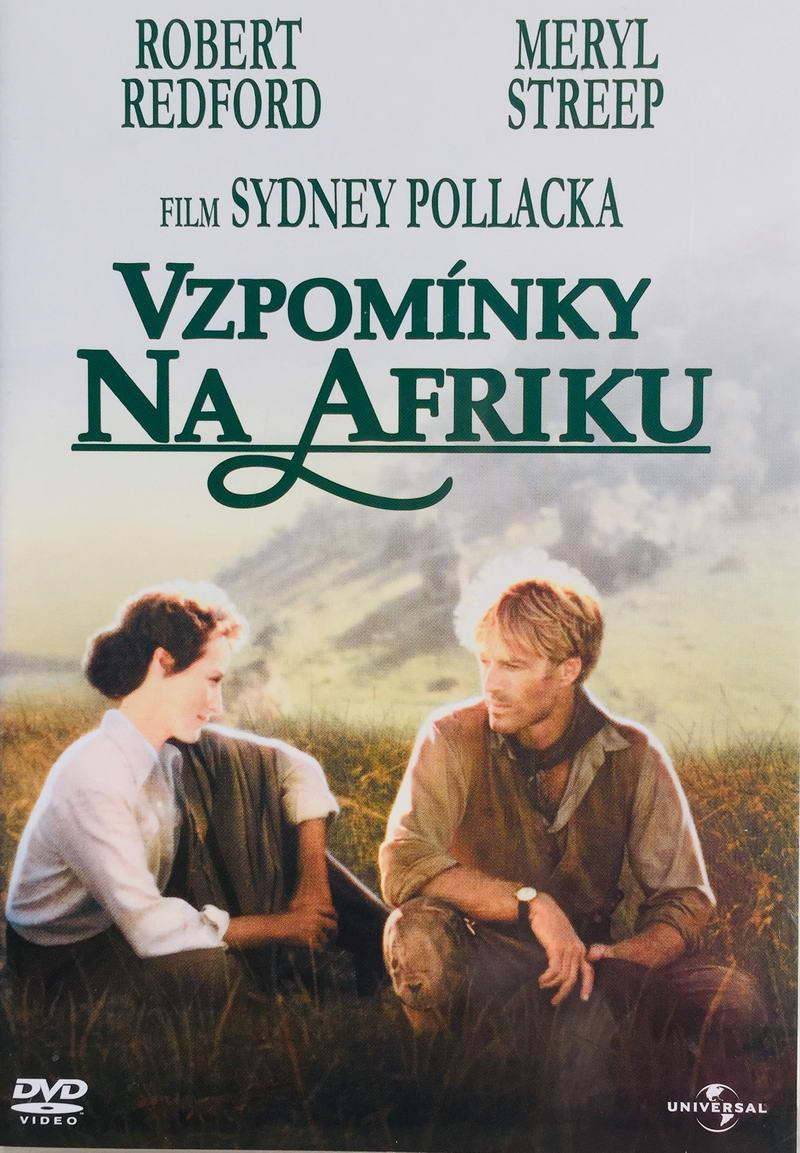 Vzpomínky na Afriku - v originálním znění s CZ titulky - DVD /plast/