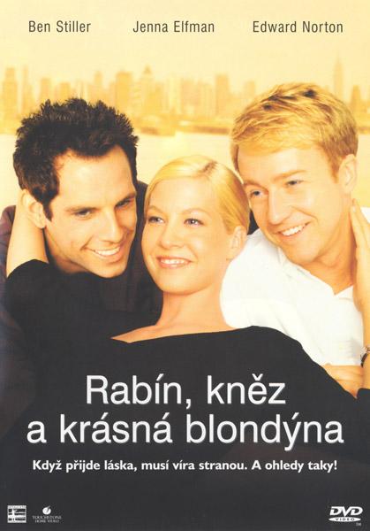 Rabín, kněz  a krásná blondýna - DVD /plast/