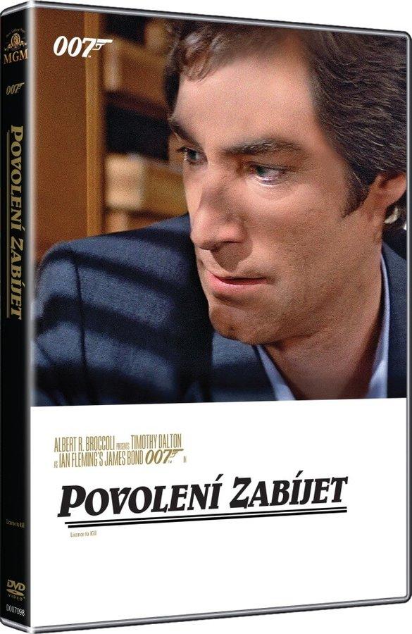 Povolení zabíjet - 007 - DVD /plast/