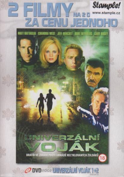 Univerzální voják 1 + Univerzální voják 2: Nedokončený obchod - DVD