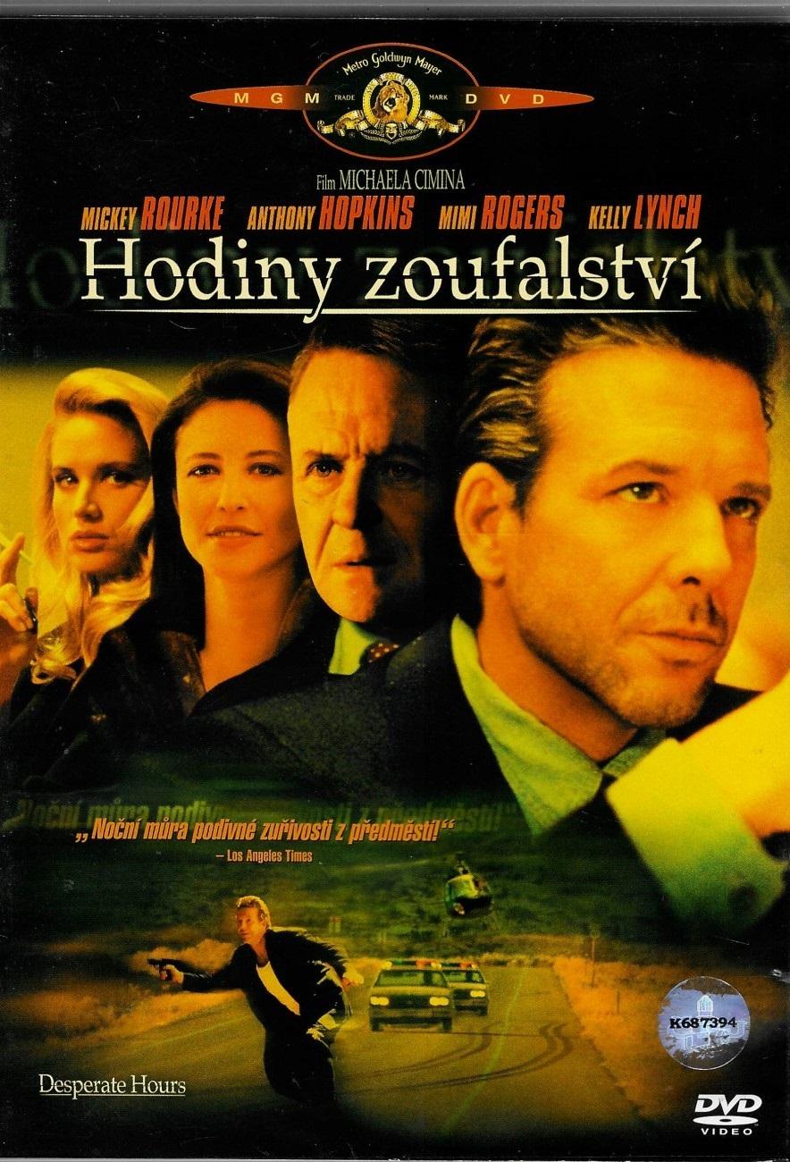 Hodiny zoufalství -  (původní znění, cz titulky) DVD /plast/