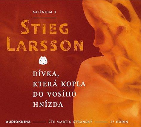 Dívka, která kopla do vosího hnízda - Stieg Larsson - Audiokniha - 2xCD /digipack malý/