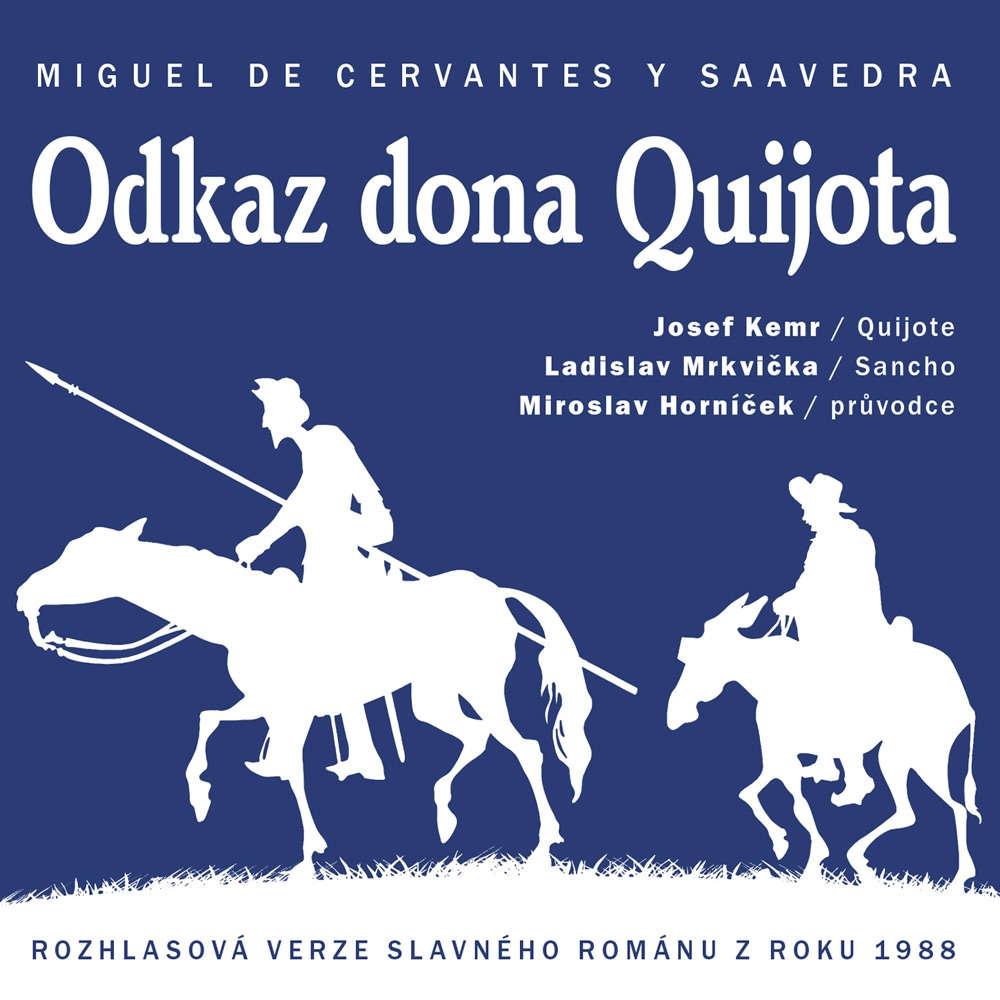 Odkaz dona Quijota - Miguel de Cervantes y Saavedra - Audiokniha - 2xCD /karton obal/