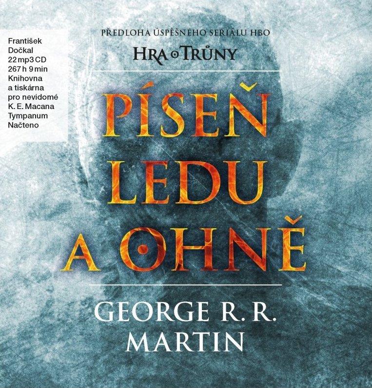Píseň ledu a ohně - George R.R. Martin - Hra o trůny - Audiokniha - 22xCD /karton box/