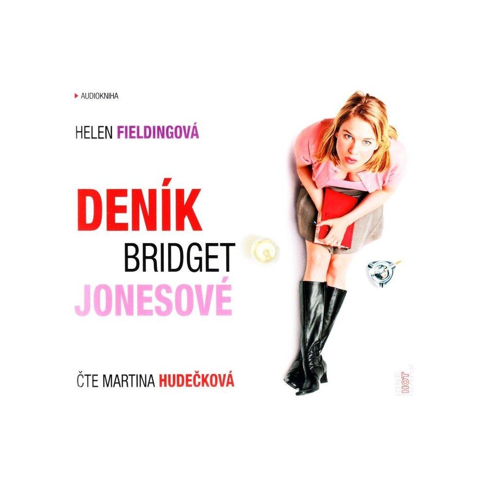 Deník Bridget Jonesové - Helen Fieldingová - Audiokniha - CD /digipack malý/