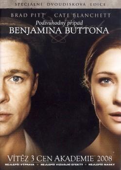 Podivuhodný případ Benjamina Buttona 2 DVD - DVD /plast/
