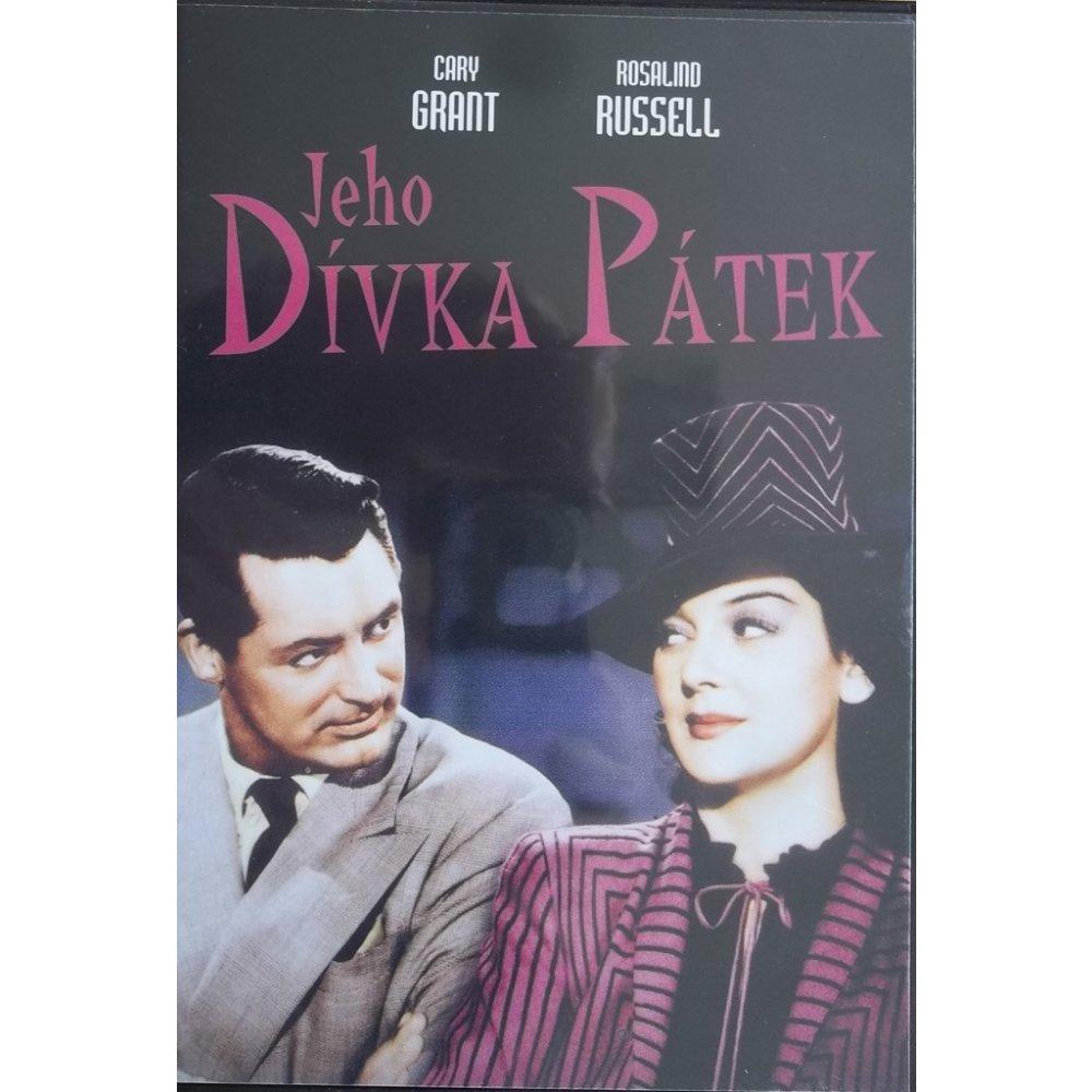 Jeho Dívka Pátek - (původní znění, cz titulky) DVD /plast/