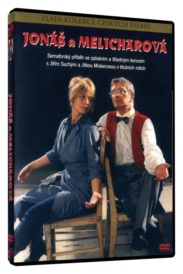 Jonáš a Melicharová - DVD /Plast/