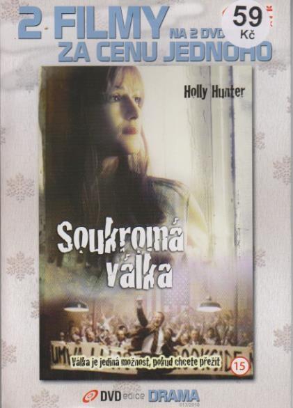 Soukromá válka + Chlapci od svatého Petra - DVD
