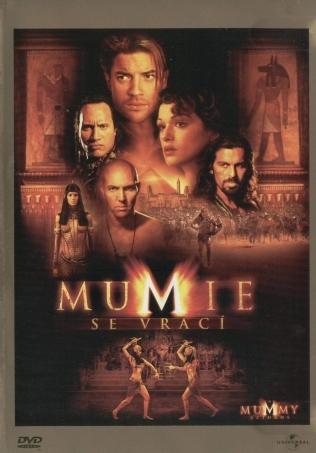 Mumie se vrací - v originálním znění s CZ titulky - DVD /plast/