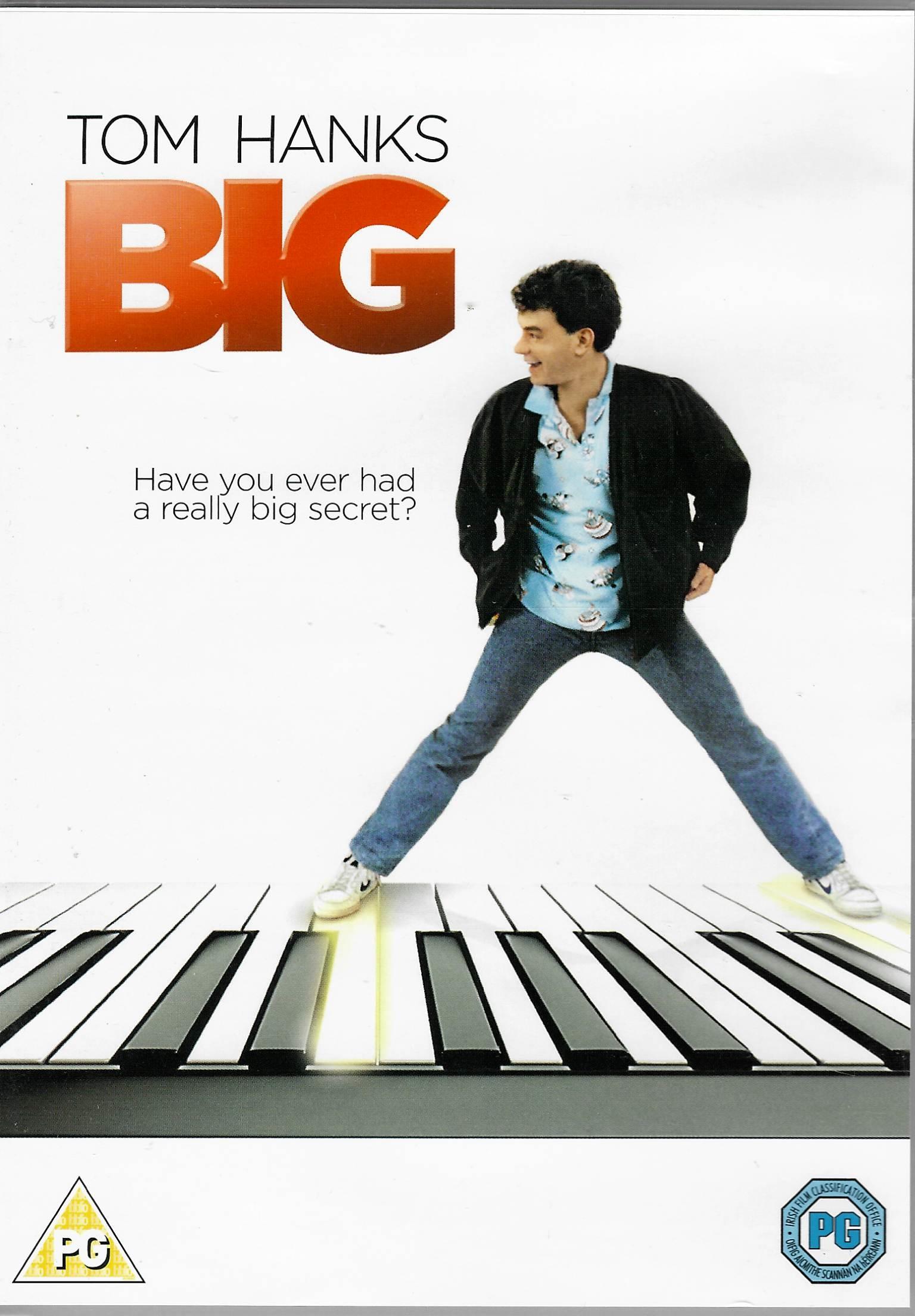 Big / Velký - (původní znění, cz titulky) DVD /plast/