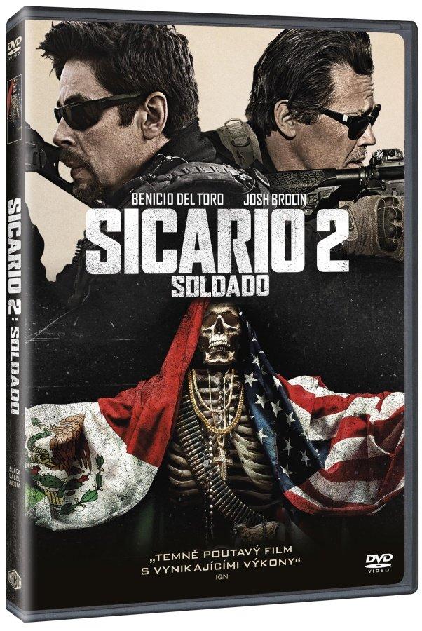 Sicario 2 Soldado - DVD /plast/