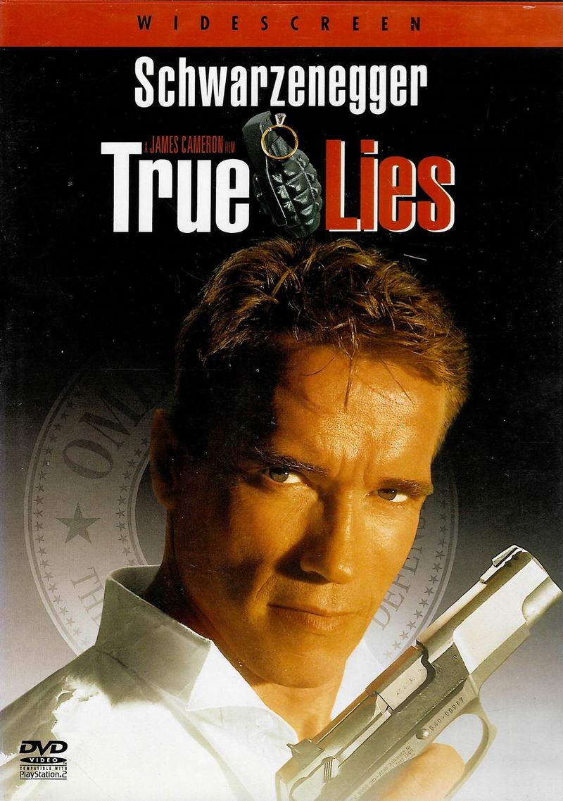 True Lies / Pravdivé lži - v originálním znění s CZ titulky - DVD /plast/