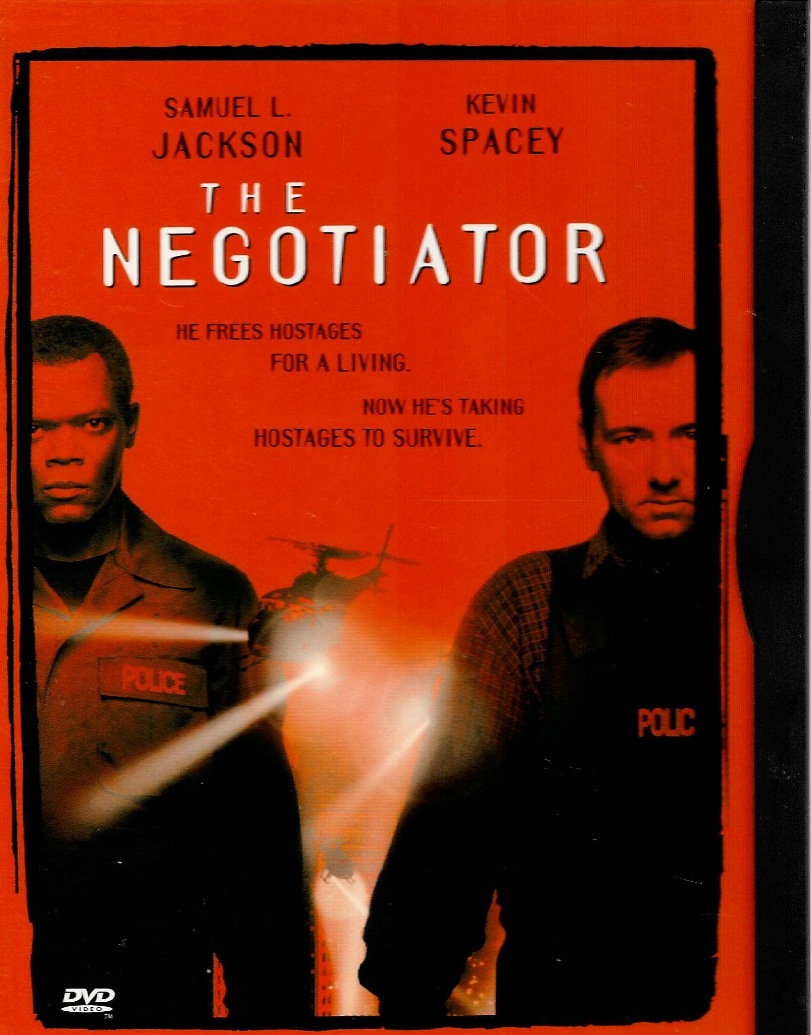The Negotiator / Vyjednavač - (původní znění, cz titulky) DVD /plast/