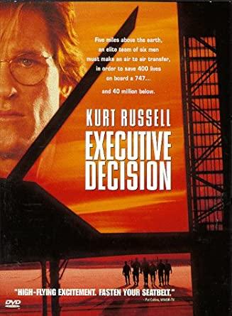 Executive Decision / Boeing 747 v ohrožení  - (původní znění, cz titulky) DVD /plast/