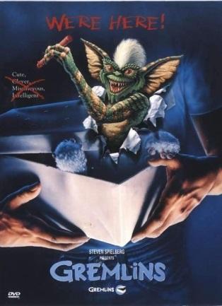Gremlins - (původní znění, cz titulky) DVD /plast/