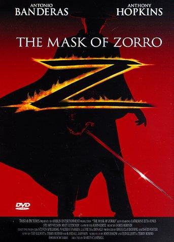 The Mask of Zorro / Zorro - Tajemná tvář - v originálním znění s CZ titulky - DVD /plast/