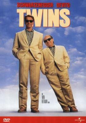 Twins / Dvojčata - DVD /plast/