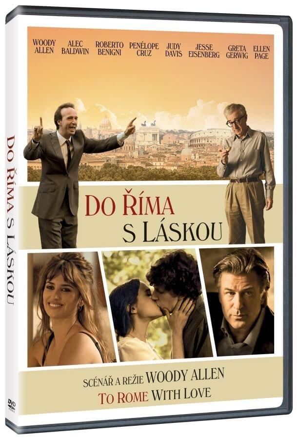 Do Říma s láskou - DVD /plast/