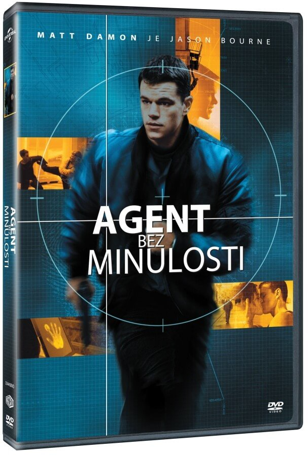 Agent bez minulosti - v originálním znění s CZ titulky - DVD /plast/
