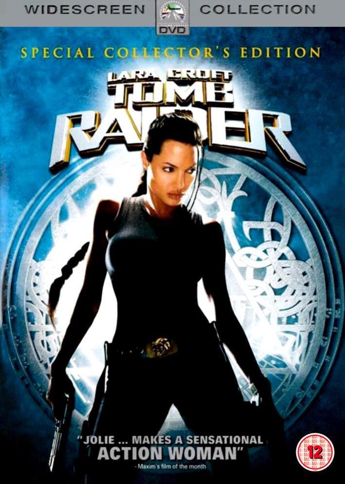 Lara Croft - Tomb Rider - Special Collector's Edition - v originálním znění s CZ titulky - DVD /plast/
