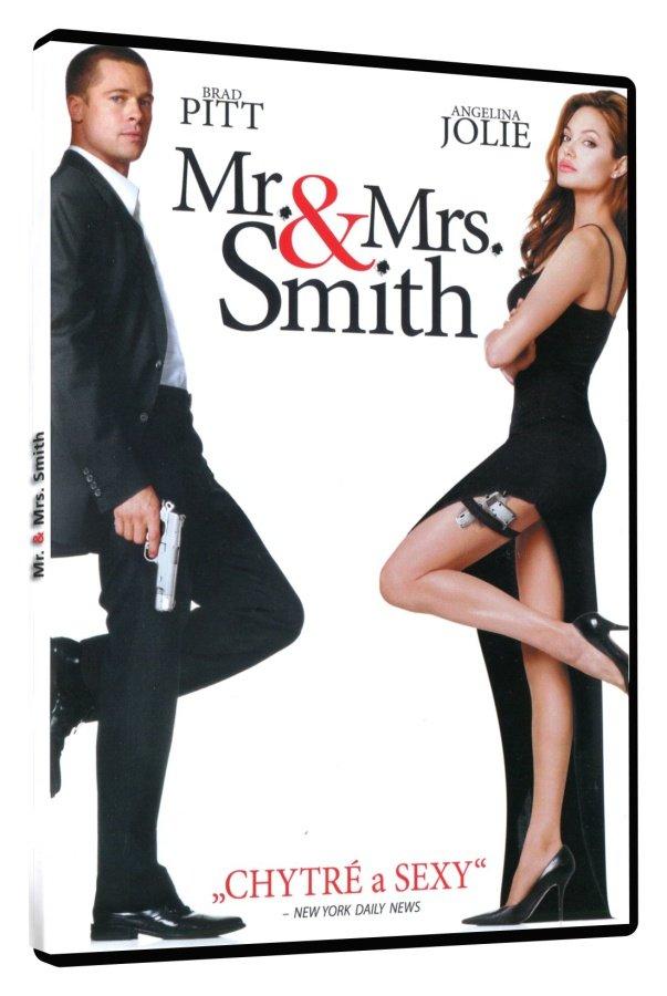 Mr. & Mrs. Smith - DVD /plast/