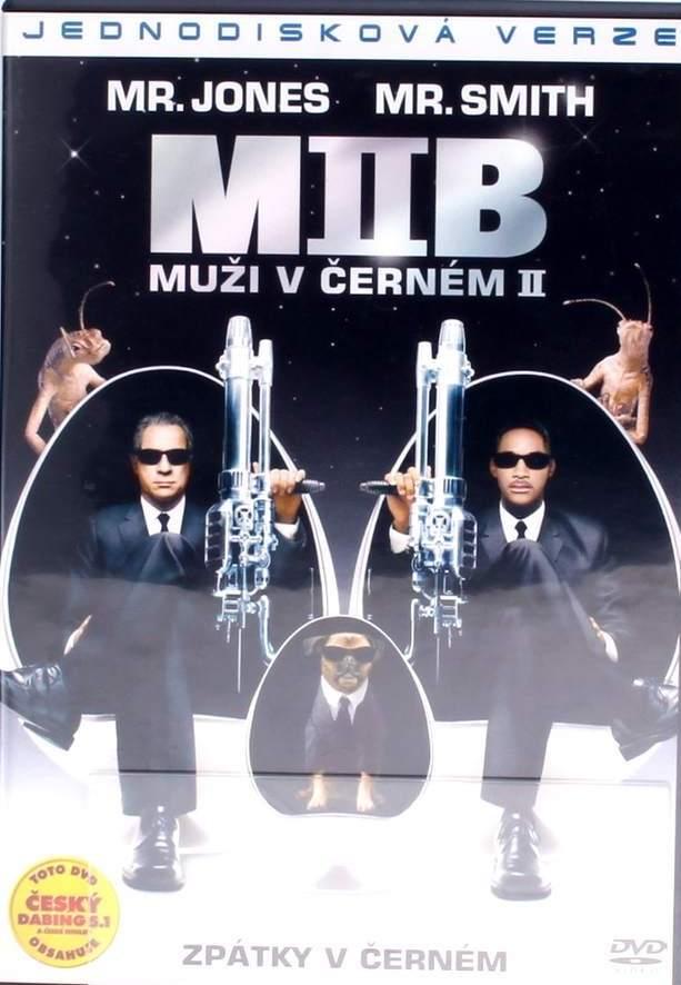 MIIB - Muži v černém II - Jednodisková verze - DVD /plast/