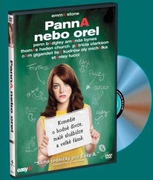 Panna nebo orel - DVD /plast/