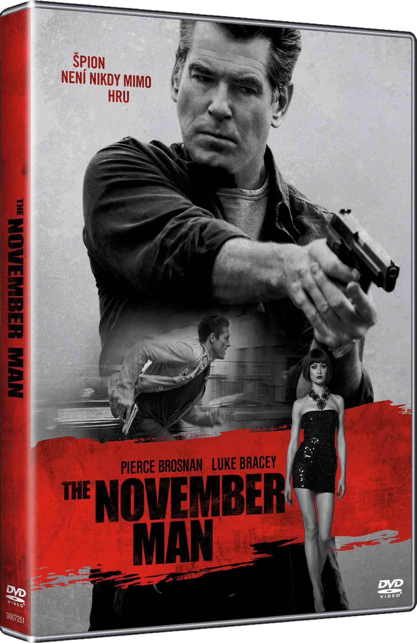 The November Man - DVD /plast/