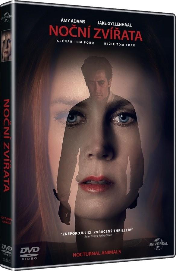 Noční zvířata - DVD /plast/