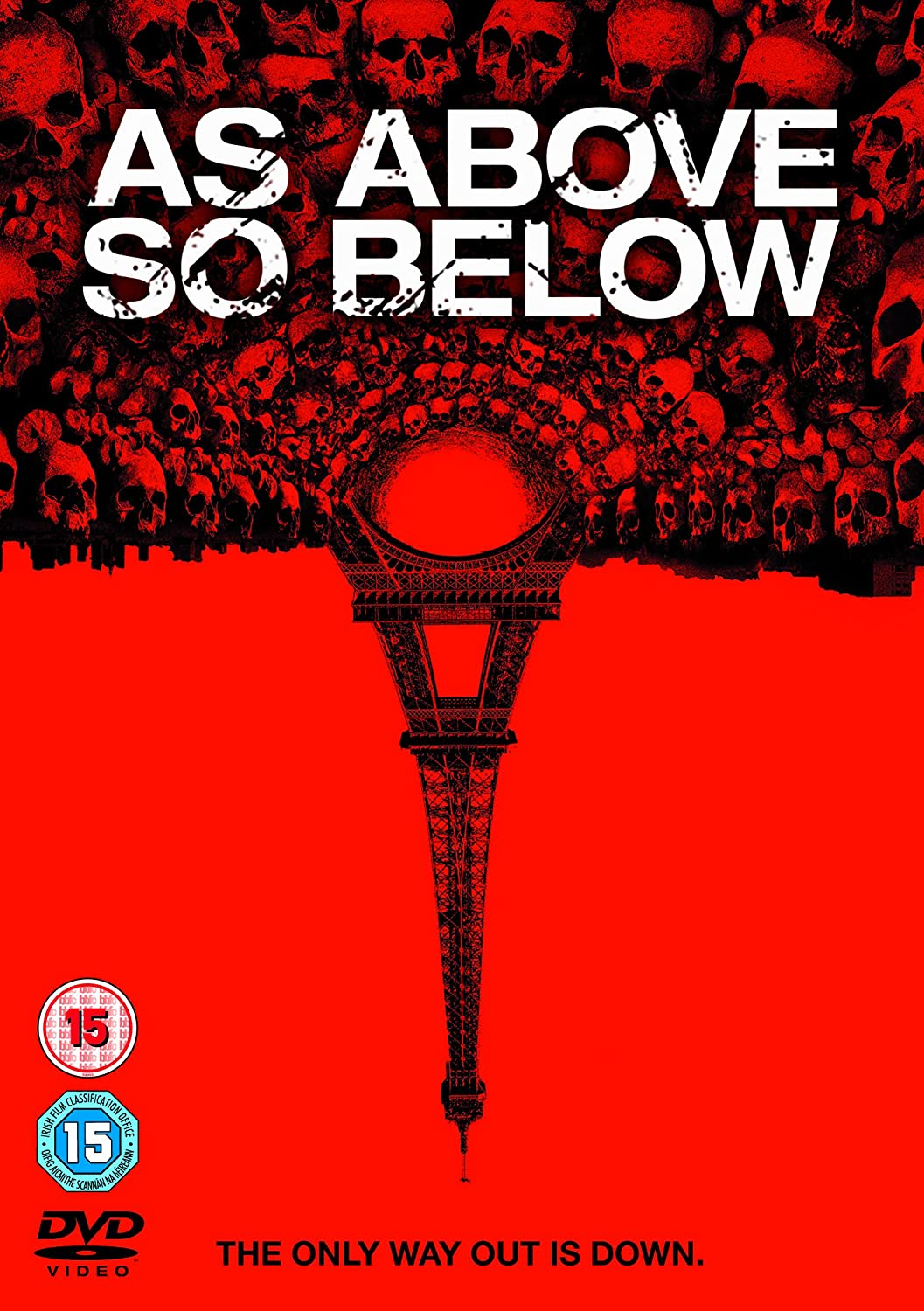 As Above So Below / Pod zemí - DVD /plast/