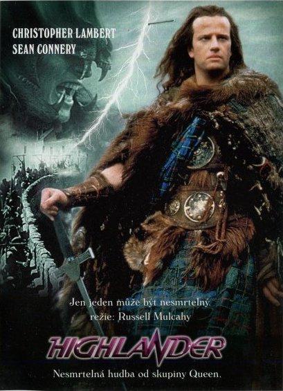 Highlander - DVD /digipack v šubru/bazarové zboží/