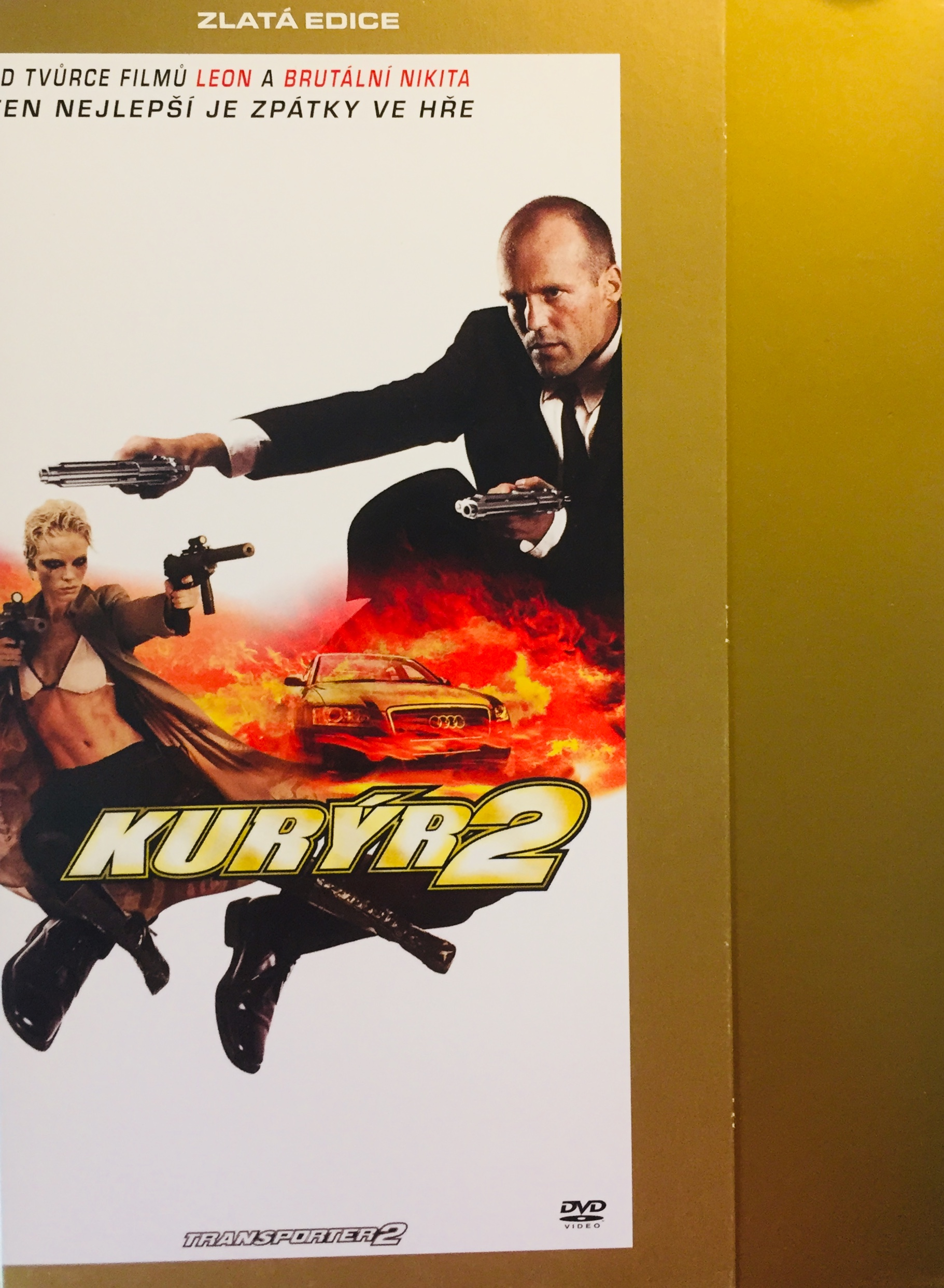 Kurýr 2 - Zlatá edice - DVD /digipack v šubru/