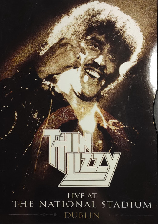 Thin Lizzy - Live At The National Stadium Dublin - DVD /plast/