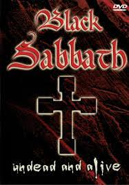 Black Sabbath - Undead and Alive - DVD /plast/