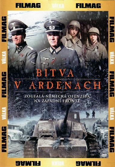Bitva v Ardenách - zoufalá německá ofenzíva na západní frontě - pošetka DVD