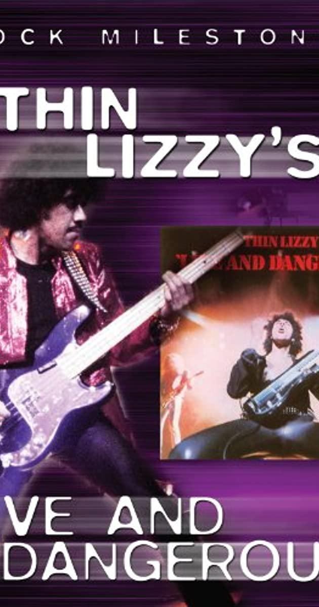 Thin Lizzy's - Live and Dangerous - DVD /plast/