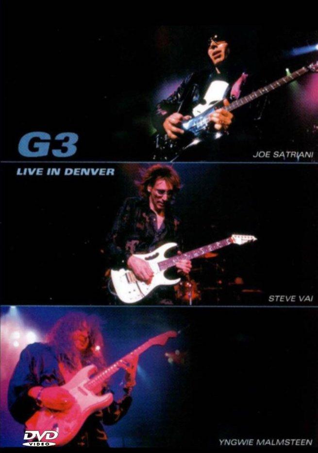 G3 - Live in Denver - DVD /plast/