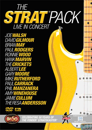 The Strat Pack - Live in Concert - DVD /plast/